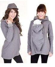 dd7c932ac La chaqueta del portador del bebé del portador de maternidad de las mujeres  calientes del algodón