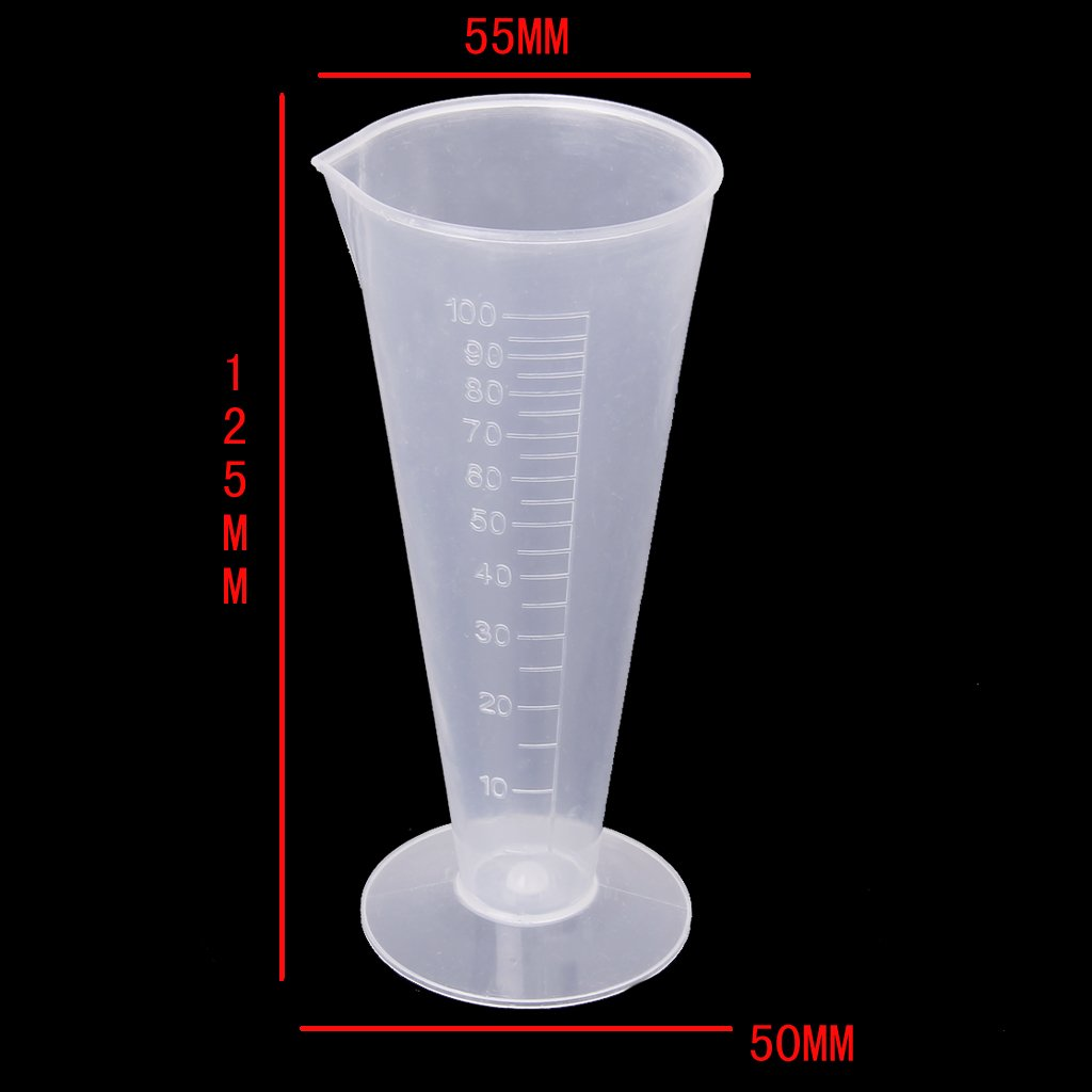 Affordable 100ml Laboratory Kitchen Plastic Measuring Cup Measuring Cup