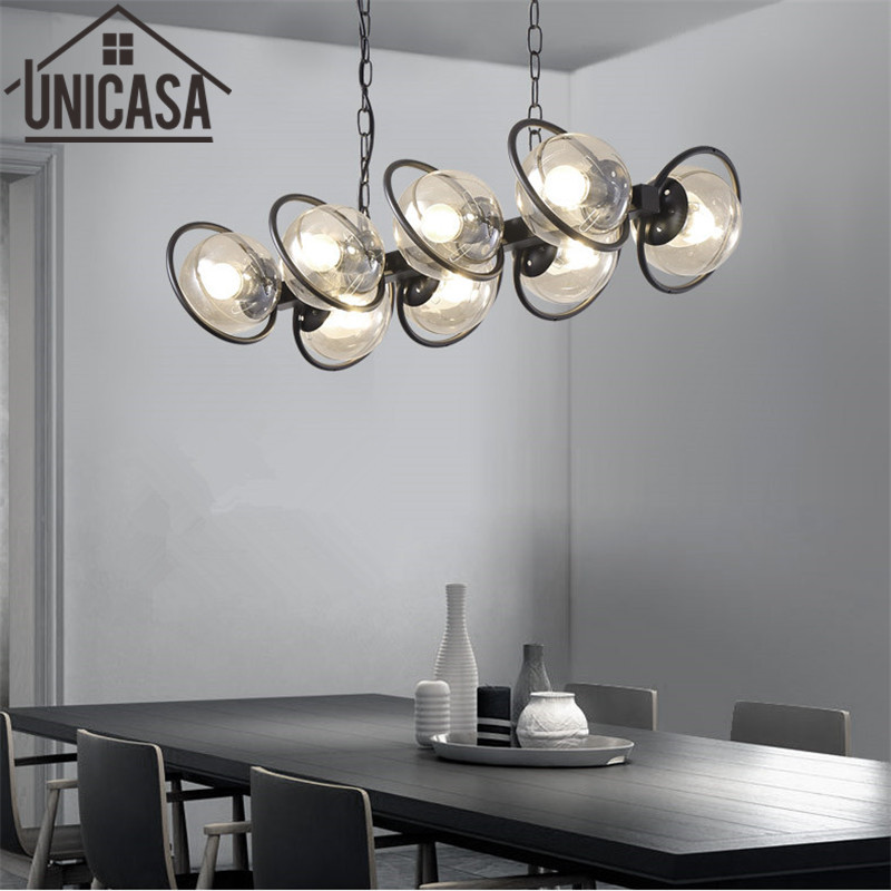 Pendant Light Modern Ceiling Lamps Amber Kitchen LED Glass Shade Lights Metal Large lamp fixture Bar lights home Lighting modern pendant lights kitchen for home decoration lighting bar elegant light postmodern golden celling lamp clear glass lamps