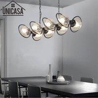 Pendant Light Modern Ceiling Lamps Amber Kitchen LED Glass Shade Lights Metal Large lamp fixture Bar lights home Lighting
