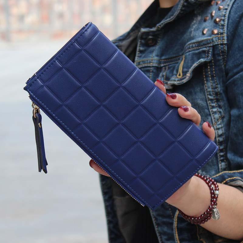 Neue Fashion Stereoscopic Platz Frauen Geldbörsen Geprägte Brieftasche Weibliche Kupplung Doppel-reißverschluss Geldbörsen Carteira Feminia Geschenk