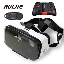 Xiaozhai BOBOVR Z4 Mini VR Box 360 Degrees 3D Virtual Reality Headset Video Game Private Theater+MOCUTE-50 Bluetooth Controller