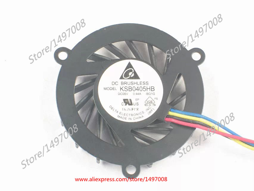 Delta KSB0405HB BG1G  DC 5V 0.44A Server Round fan фруктовница patricia ракушка диаметр 27 5 см im08 0405
