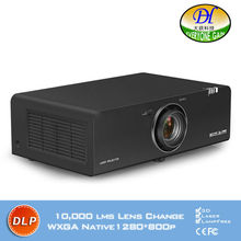 DH-8806 DLP Outdoor Digital zoom Projector laser light source 10000lms Proyector 3D Full HD 1280*800P lamp life 50000hrs Beamer