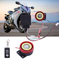 Hotsale Motorcycle Alarm System Anti-theft Security Alarm System Remote Control Motorcycle Accessaries with 3V CR2032 Battery