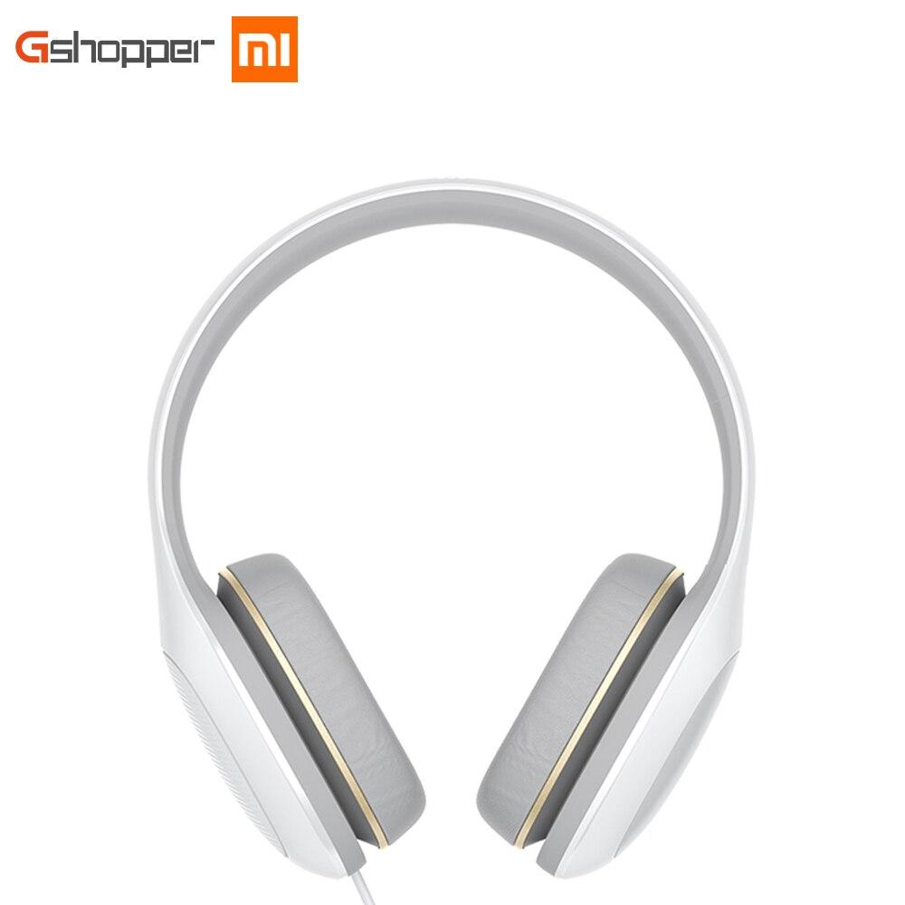 Новые оригинальные Xiaomi mi наушники комфорт глобальная версия с mi c Сяо mi гарнитура шум шумоподавления стерео музыка HiFi