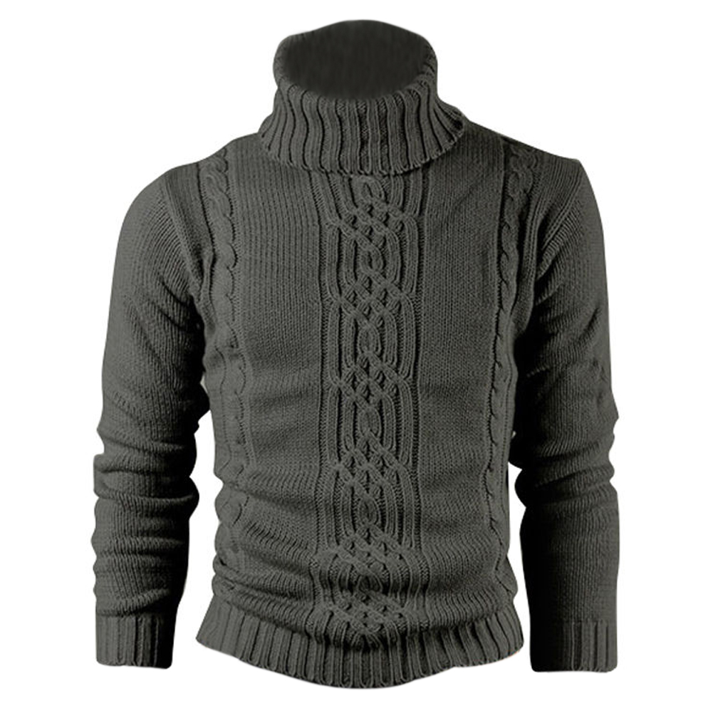 Палевый печати Натуральная Шерсть Хлопок Мужской свитер шерстяное пальто пуловер