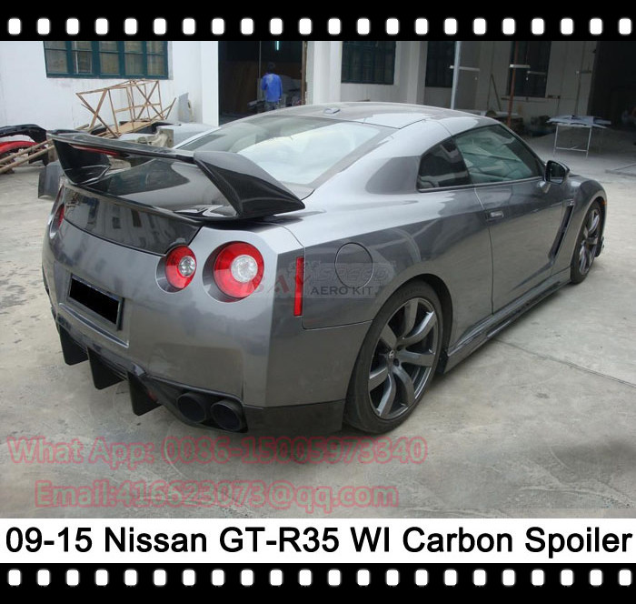 Nissan Skyline R35 Wallpapers Group 79: Achetez En Gros Nissan Gtr Spoiler En Ligne à Des