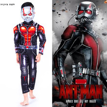 482df80d7b76 kid Children Halloween Ant-Man Costumes for Boys The Avengers Ant-Man Movie  Cosplay