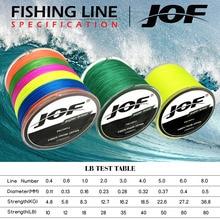 JOF 300M Multicolour 4 Strands Multifilament Japanese Fishing Line