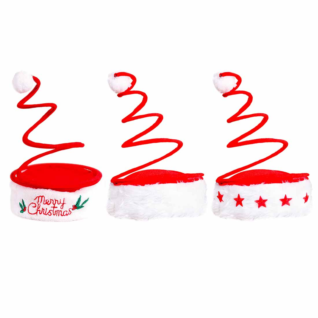 New Christmas Decoration Adult Christmas Hat Five Star Lamp Cap Spring Hat Embroidered Hat Christmas Products Wild Hat Superior Materials Novelty & Special Use Kids Costumes & Accessories