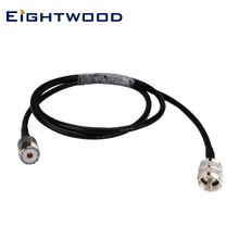 "Eightwood VHF/radio de mano UHF adaptador de antena UHF SO239 Jack UHF PL259 macho Pigtail RG58 RF Cable Coaxial 100 cm/40""(China)"