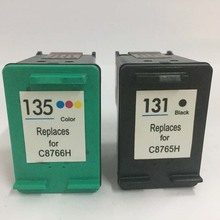 Vilaxh For HP131 135 compatible Ink Cartridge for hp131 photosmart 2570 2600 2700 6520 6540 6620 460 5740 8750