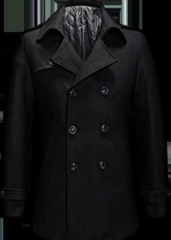 Winter Gray Men Winter Coat...