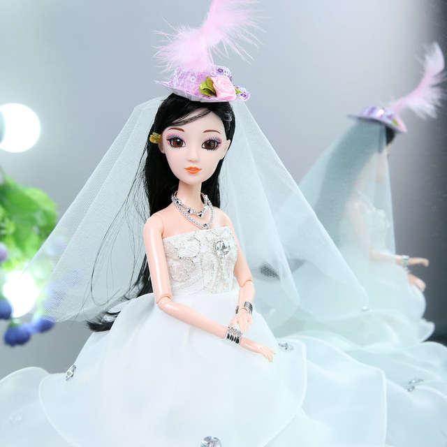 Pernikahan Bernyanyi Menari Berputar Boneka Mainan untuk Anak Perempuan  Buatan Tangan LOL Boneka untuk Gadis Anak 86a67287d4