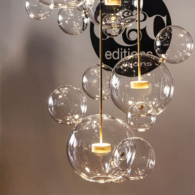 bubble lighting fixtures. Online Post Modern Bolle Lamp Led Pendant Light Clear Gl Bubble Lighting Fixtures D