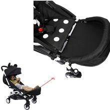 Upgrade 32cm Footmuff Baby Stroller Foot Extension Feet Rest Board Baby Stroller Accessories For Baby Yoya Stroller