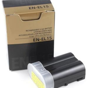 Image 4 - EN EL15 ENEL15 EN EL15 Pil Piller paketi Için nikon kamera D600 D610 D600E D800 D800E D810 D7000 7100 d750