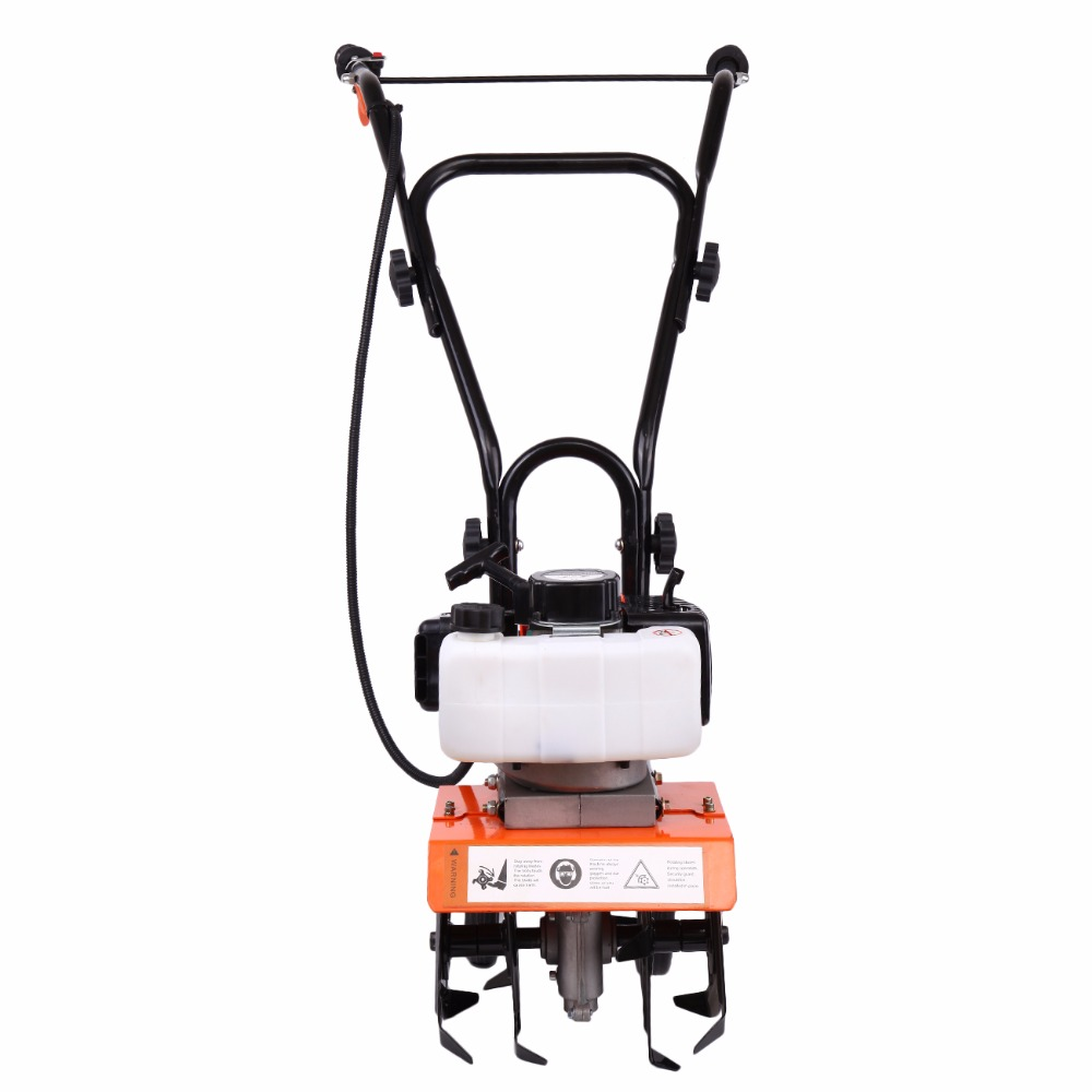 Tilling Backyard: (Ship From USA) Mini Garden Tiller Cultivator Gas Powered