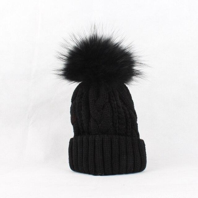222254192a9 ... FURANDOWN 2017 New Womens Warm Fleece Inside Beanie Hats Winter Mink  Raccoon Fur Pompom Hat Female Cap. 35% Off. 🔍 Previous. Next