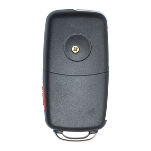 Image 2 - Keyecu Keyless Go Function Replacement Flip Remote Car Key Fob 3 Button 315MHz/433MHz ID46 for VW Volkswagen Touareg 2002 2010