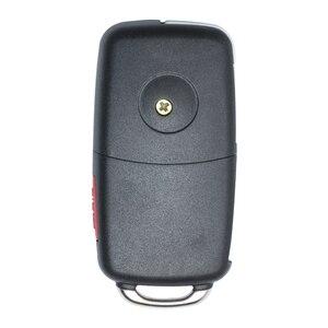 Image 2 - مفتاح Keyecu للاستبدال عن بُعد بدون مفتاح ، مفتاح السيارة عن بعد ، 3 أزرار 315 ميجاهرتز/433 ميجاهرتز ID46 for VW Volkswagen طوارق 2002 2010