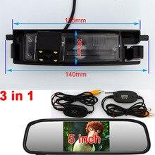 Заднего вида обратной парковочная Камера монитор для TOYOTA RAV4 2000 2001 2002 2003 2004 2005 2006 2007 2008 2009 2010 2011 2012 2013