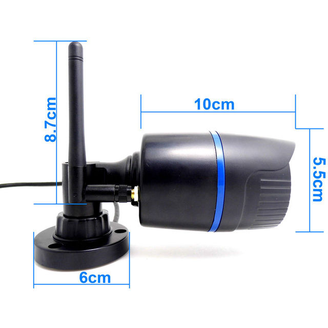 ip camera 720p HD wifi outdoor wateproof cctv security system surveillance mini wireless cam infrared P2P weatherproof mini home
