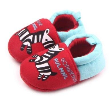 Hooyi хлопковая обувь для мальчика противоскользящие Чехлы для обуви из горного хрусталя, для детей ясельного возраста, для тех, кто только начинает ходить, для новорожденных; обувь для малышей, не начавших ходить носки для девочек - Цвет: 27