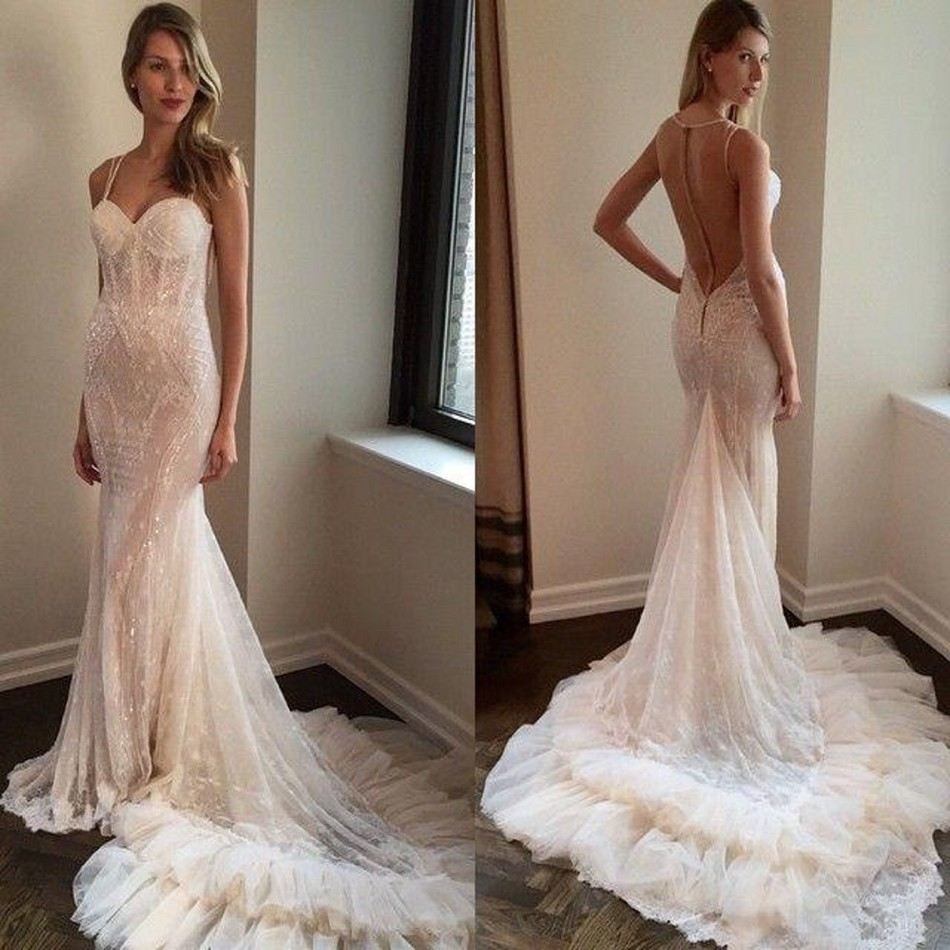 Compare Prices on Sheer Cathedral Mermaid Wedding Dress- Online ...