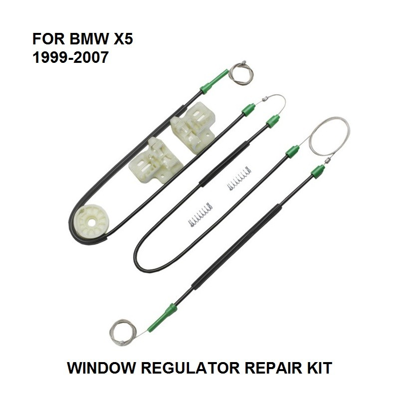 ELECTRIC CAR WINDOW REGULATOR FOR BMW X5 WINDOW REGULATOR REPAIR KIT FRONT-LEFT SIDE **NEW** 1999-2007