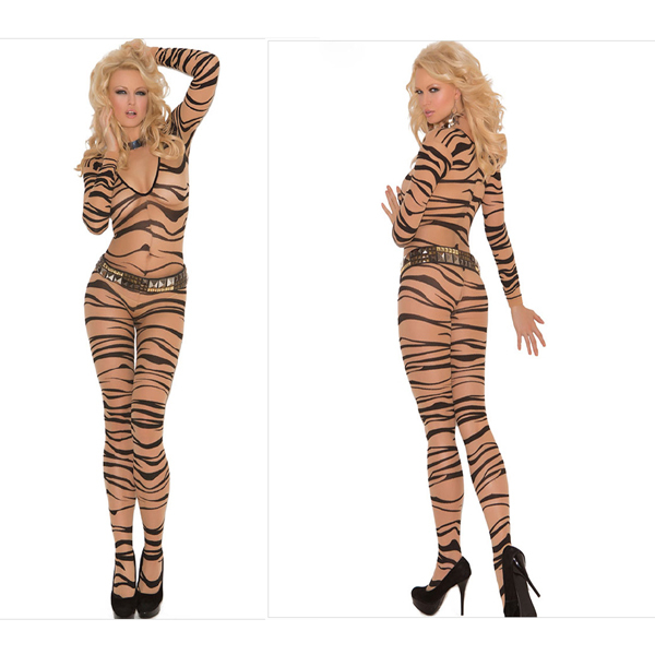 ac8baf6ee21 Novelty Lady's Sexy Wild Show Long Sleeve Jumpsuit Bandage Bodysuit Club  Outfit Rompers Women's Sexy Bodycon Playsuit Clubwear