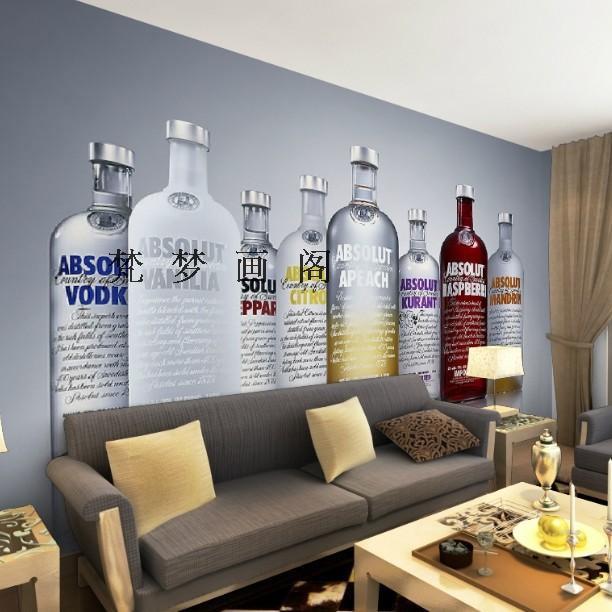 Restaurant Kitchen Wallpaper free shipping modern minimalist style tv sofa backdrop restaurant