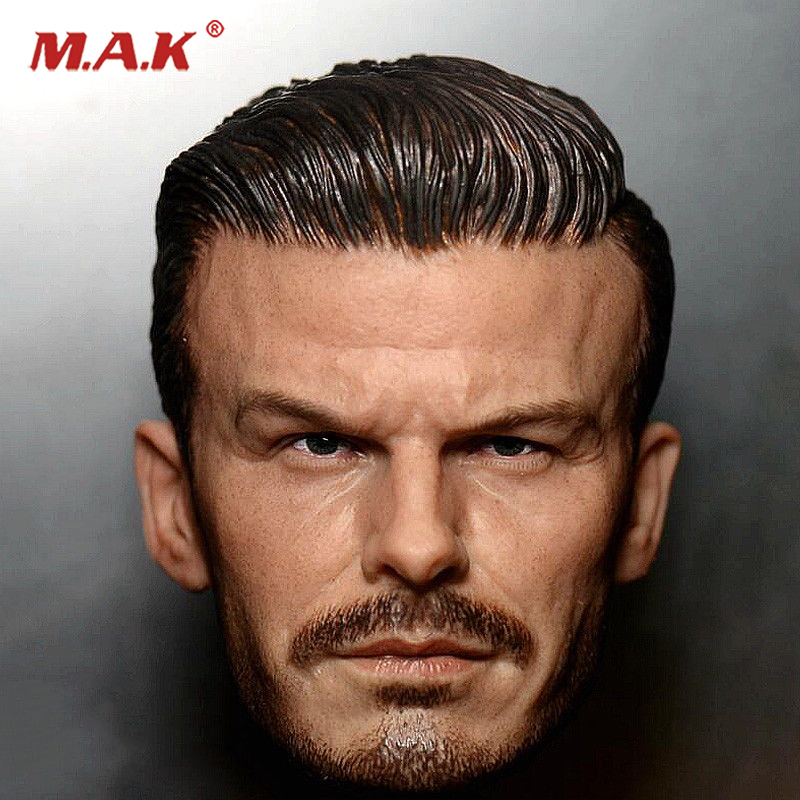 1:6 Scale JX-10 David Beckham Head Sculpt Young Version for 12 inches Male Action Figure 1 6 scale the game of death bruce lee head sculpt and kungfu clothes for 12 inches figures bodies