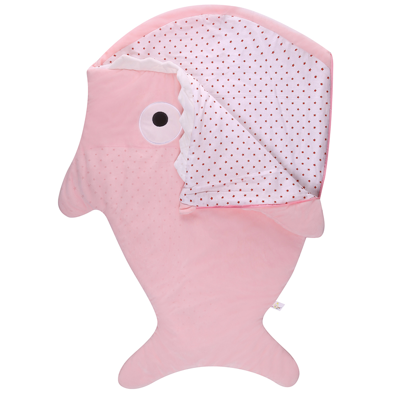Baby-Sleeping-Bags-Envelope-For-Newborns-Shark-Sleepsack-Children-Winter-Swaddle-Bedding-Blanket-Baby-Sleep-Organic-Bed-Stroller-3
