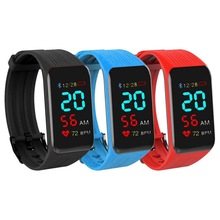 Smart Watch K1 Plus Bracelet Real-time Heart Rate Monitor Color LCD Touch Screen PK Miband For IPhone Fitness Tracker Band