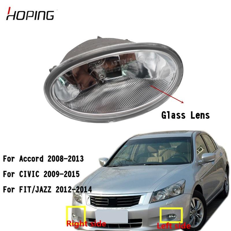 Hoping Front Bumper Fog Light Foglight For HONDA For ACCORD 2008-2013 For CIVIC 2009-2015 For FIT JAZZ 2012-2014 Fog Lamp