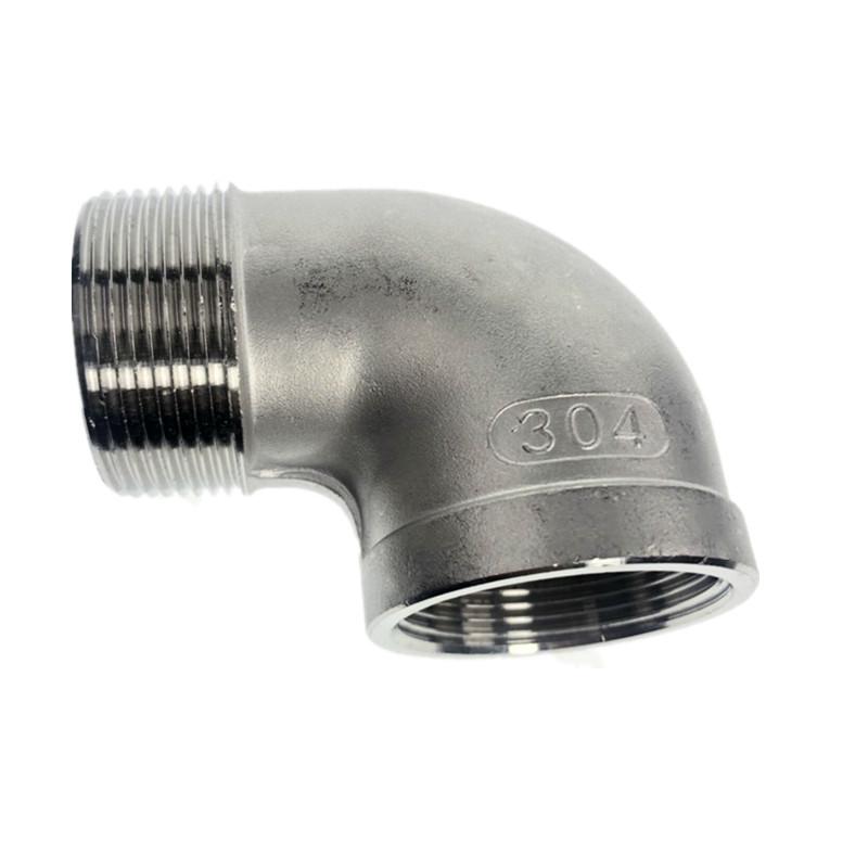 Female X Male Street Elbow Threaded Pipe Fitting Stainless Steel 304 BSP