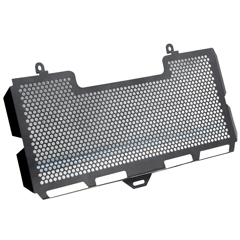R QIANKONG Brand New BLACK Stainless Steel Radiator Grille Guard Cover f700gs For BMW F700GS 2008-2018 2009-2010 2011 2012 2013