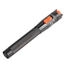 محدد خطأ بصري 1mW 10mW 20mW 30mW قلم ليزر أحمر نوع القلم كابل الألياف البصرية اختبار متر