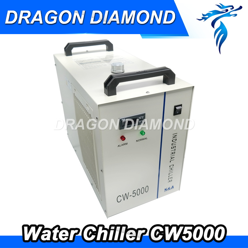 CW5000 Industry Air Water Chiller for CO2 Laser Engraving Cutting Machine Cooling 80W 100W Laser Tube herno