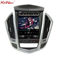 KiriNavi Vertical Screen Tesla Style 10.4 Inch Car GPS Navigation For Cadillac SRX Touch Screen Car Radio GPS 2009 2012 WIFI