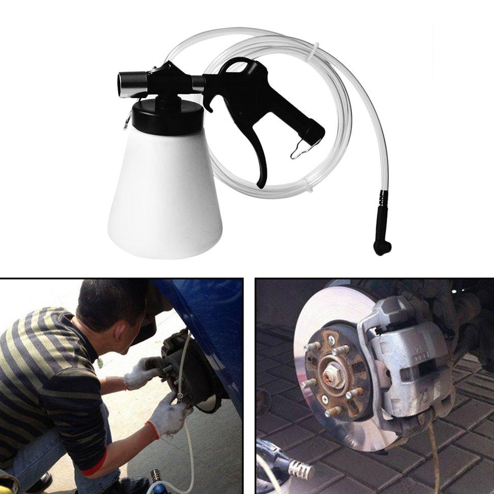 2pcs 87 174psi 0.75L Air Brake Bleeder Pneumatic Brake Clutch Fluid Fill Bottle