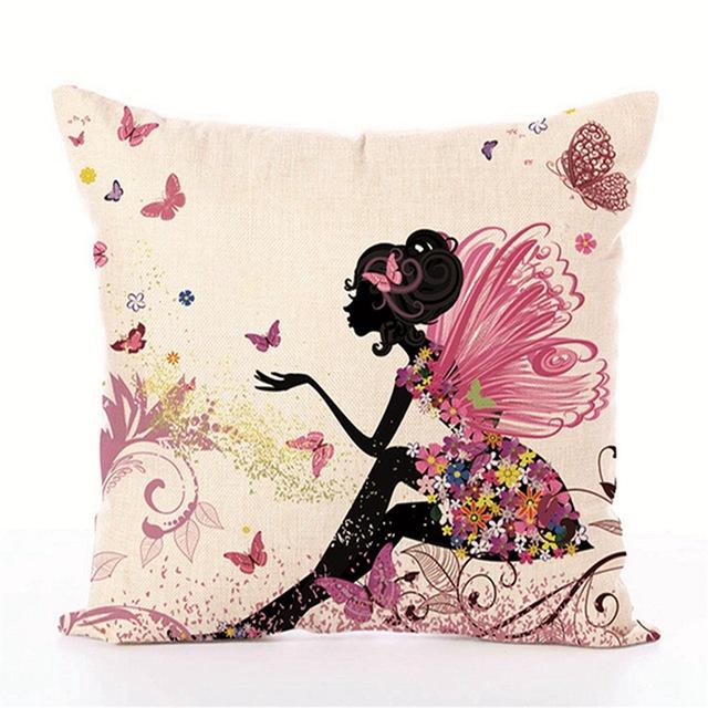 Fairies Decorative Cushion Covers 45×45 cm