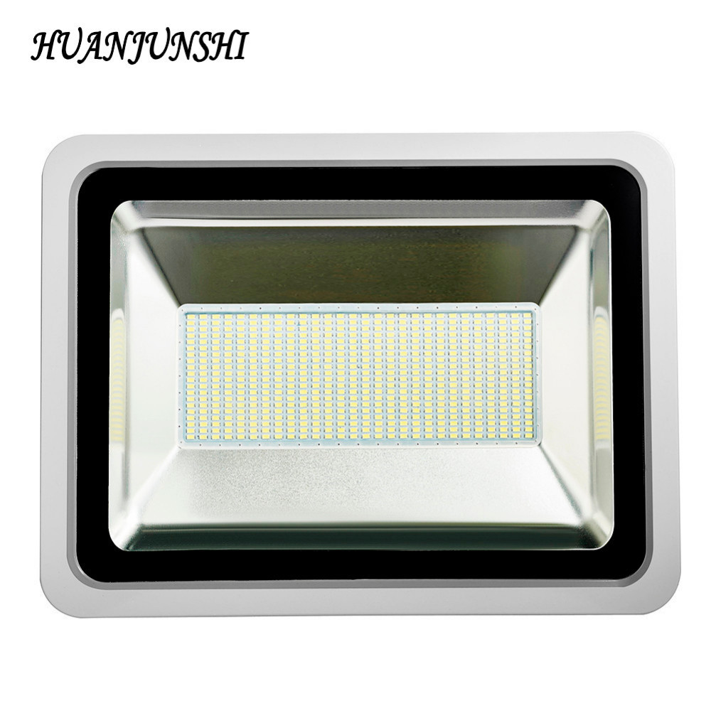Ultrathin Led Flood Light 300W LED Street Light 220V Waterproof Led Floodlight Spotlight Outdoor Lighting LED Reflector Lamp ultrathin led flood light 100w led floodlight ip65 waterproof ac85v 265v warm cold white led spotlight outdoor lighting