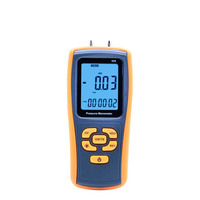 GM520 Min Pocket USB LCD Display Digital Air Pressure Gauge Manometro Measuring Range 35kPa Temperature Compensation