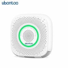 ubontoo WiFi Gas lpg leak alarm Home Security High Sensitive detector for fire Sensor for Mobile phone Remote control 1 set wireless 315 433mhz home security coal gas natural gas lpg leak sensor stand alone gas alarm sensor fire control alarm