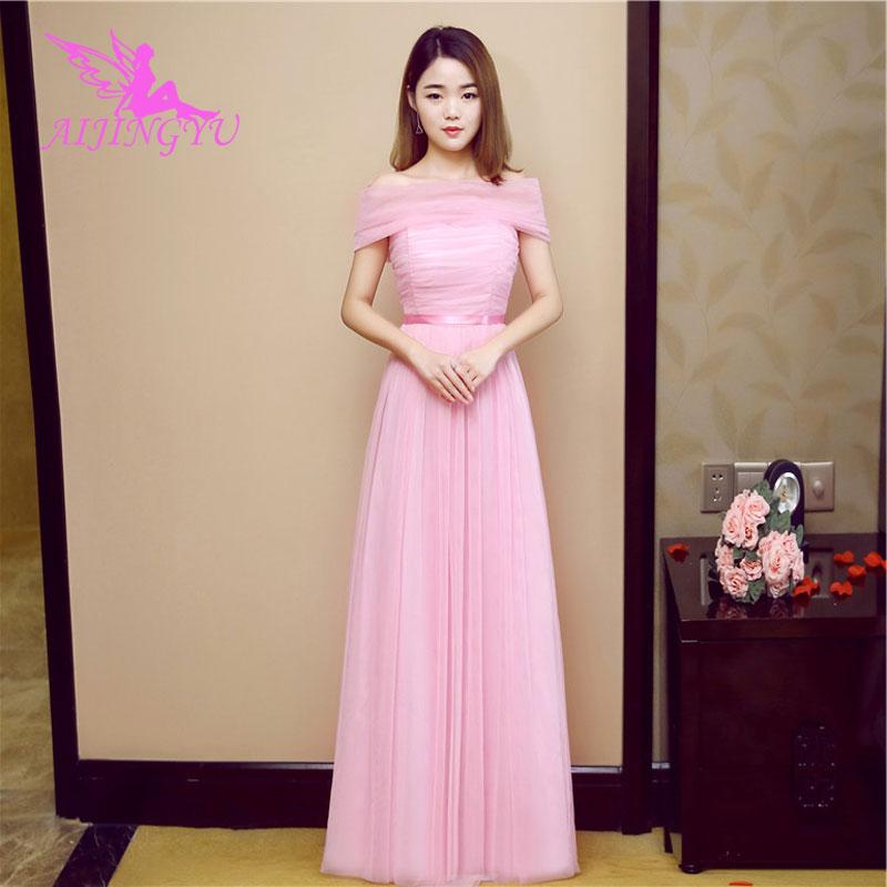 AIJINGYU 2018 sexy   bridesmaid     dress   wedding guest formal   dresses   BN532