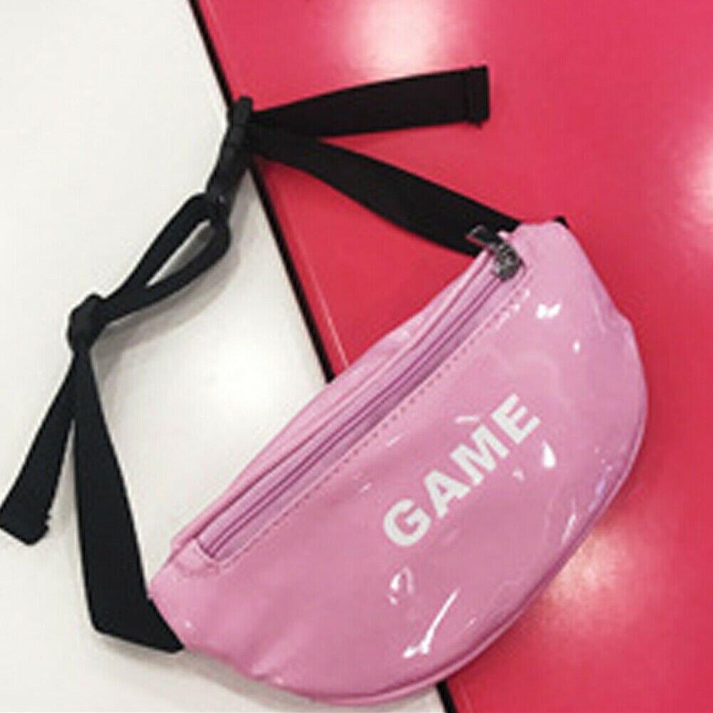 Модная новинка, детская сумка на пояс для маленьких девочек, сумка для спорта на открытом воздухе, сумка с ремнем, сумка для путешествий - Цвет: Розовый