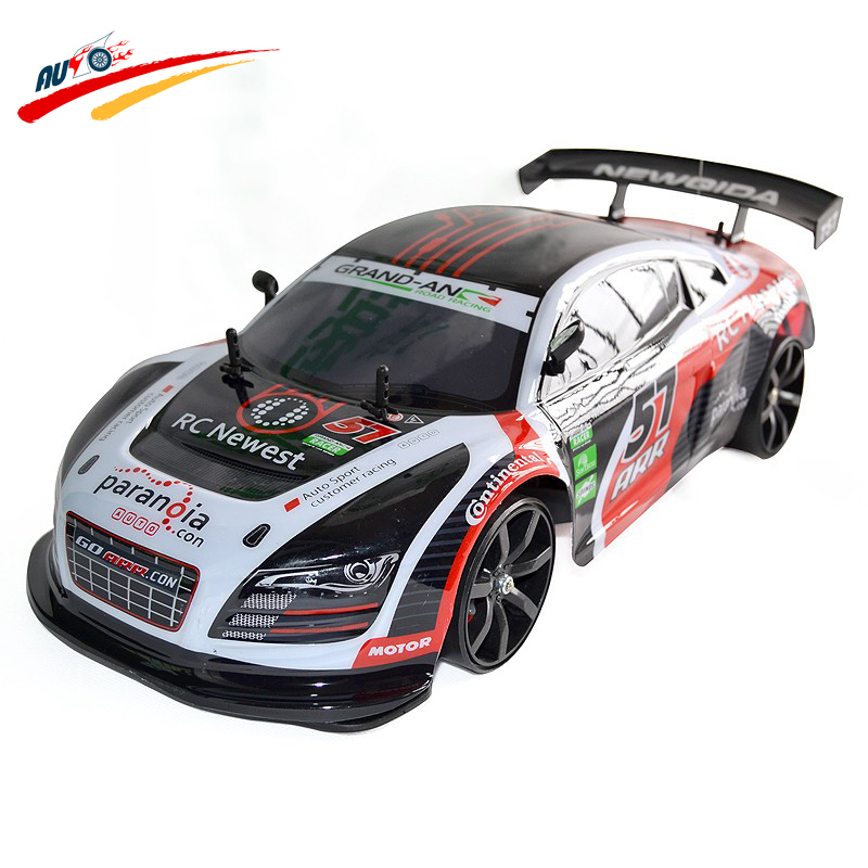 rc car 1 10 high speed racing car r8 championship 2 4g 4. Black Bedroom Furniture Sets. Home Design Ideas